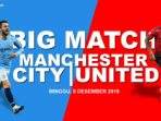 Grafis Manchester City vs Manchester United