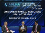 BRI, Penghargaan Internasional, APLMA, Syndicated Financial Institution Deal of the Year, Sustainability Bonds,